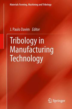 Cover of the book Tribology in manufacturing technology