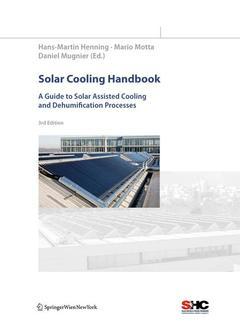 Couverture de l'ouvrage Solar cooling handbook