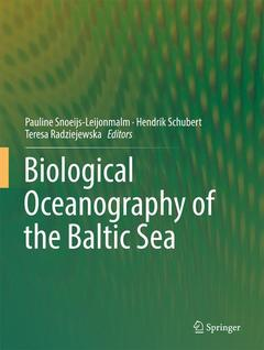 Cover of the book Biological oceanography of the baltic sea