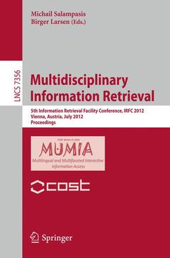 Couverture de l'ouvrage Multidisciplinary information retrieval