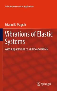 Couverture de l'ouvrage Vibrations of elastic systems