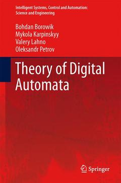 Couverture de l'ouvrage Theory of digital automata
