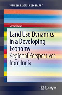 Couverture de l'ouvrage Land use dynamics in a developing economy