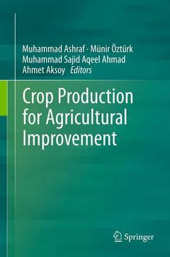 Cover of the book Crop production for agricultural improvement