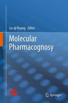 Couverture de l'ouvrage Molecular pharmacognosy