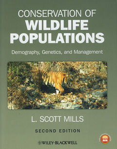 Couverture de l'ouvrage Conservation of wildlife populations (2nd Ed.)