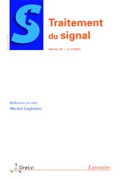 Couverture de l'ouvrage Traitement du signal Volume 29 N° 1-2/Janvier-Avril 2012