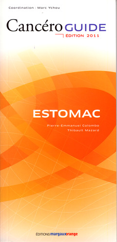 Couverture de l'ouvrage Cancéroguide Estomac (Édition 2011)