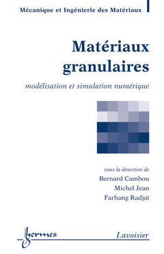 Couverture de l'ouvrage Matériaux granulaires