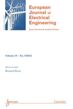 Couverture de l'ouvrage L'éco-conception en génie électrique (European Journal of Electrical Engineering Volume 15 N° 5/Septembre-Octobre 2012)