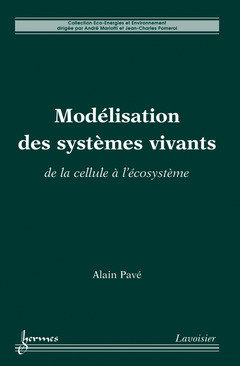 Couverture de l'ouvrage Modélisation des systèmes vivants