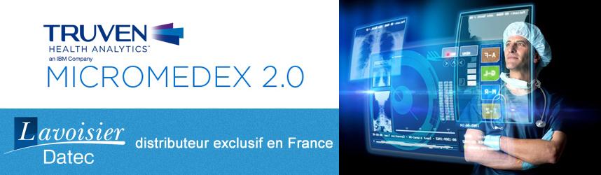 datec, distributeur exclusif en France de Micromedex