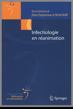 Couverture de l'ouvrage Infectiologie en réanimation