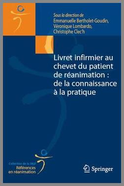 Couverture de l'ouvrage Livret infirmier au chevet du patient de réanimation...