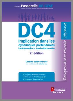 Couverture de l'ouvrage DC4 Implication dans les dynamiques partenariales...