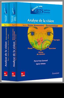 Couverture de l'ouvrage Analyse de la vision (les 2 tomes)