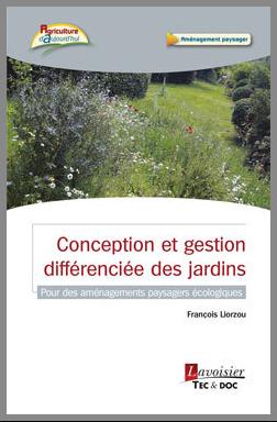 Couverture de l'ouvrage Conception et gestion différenciée des jardins