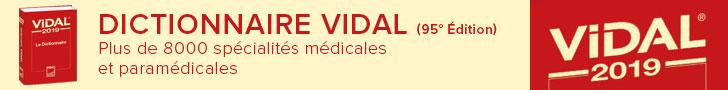 Dictionnaire Vidal 2019