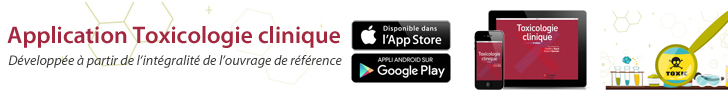 Application Toxicologie clinique