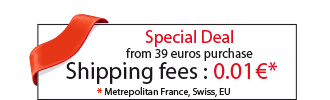 Shipping fees : 0.01 € !