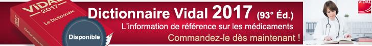 Dictionnaire Vidal 2017 (93° Éd.)