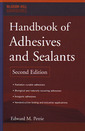 Couverture de l'ouvrage Handbook of adhesives & sealants