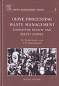 Couverture de l'ouvrage Olive Processing Waste Management