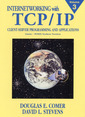 Couverture de l'ouvrage Internetworking with TCP/IP vol 3 : Client/server programming & applications Linux/POSIX sockets version