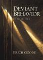 Couverture de l'ouvrage Deviant behavior, 6th ed.