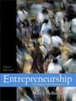 Couverture de l'ouvrage Entrepreneurship (3° ed )