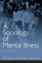 Couverture de l'ouvrage Sociology of mental illness, a (2nd ed )