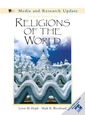 Couverture de l'ouvrage Religions of the world, media and research update (with sacred world cd) (9th ed )