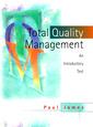 Couverture de l'ouvrage Total quality management : an introducto ry text (paper)