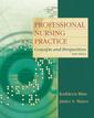 Couverture de l'ouvrage Professional nursing practice (6th ed )
