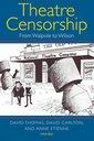 Couverture de l'ouvrage Theatre censorship: from walpole to wilson (harback)