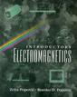 Couverture de l'ouvrage Modern introductory electromagnetics