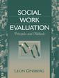 Couverture de l'ouvrage Social work evaluation
