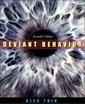 Couverture de l'ouvrage Deviant behavior, 7th ed.