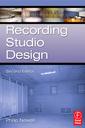 Couverture de l'ouvrage Recording studio design