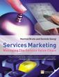 Couverture de l'ouvrage Services marketing, managing the service value chain