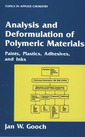 Couverture de l'ouvrage Analysis and deformulation of polymeric materials : paints, plastics, adhesives and inks (POD)