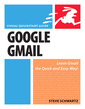 Couverture de l'ouvrage Google gmail, visual quickstart guide