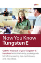Couverture de l'ouvrage Now you know tungsten e