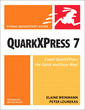 Couverture de l'ouvrage Quarkxpress 7 for windows and macintosh, visual quickstart guide