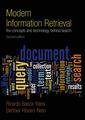 Couverture de l'ouvrage Modern information retrieval