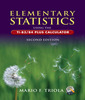 Couverture de l'ouvrage Elementary statistics using the ti-83/ 84 plus calculator (2nd ed )