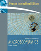 Couverture de l'ouvrage Macroeconomics, international edition