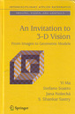 Couverture de l'ouvrage An invitation to 3-D Vision: From images to Geometric models (interdisciplinary applied mathematics)