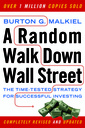 Couverture de l'ouvrage Random walk down wall street the time-tested strategy for successful investing (paperback)
