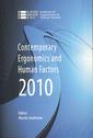 Couverture de l'ouvrage Contemporary ergonomics and human factors 2010